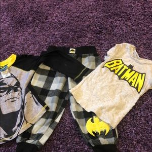 Toddler Boy Batman Pajama Sz 3T